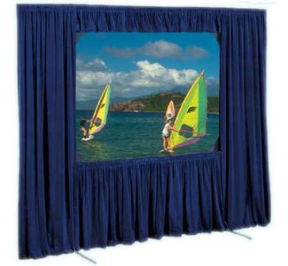 Draper Dress Kit for 62 x 108 Cinefold Complete with Case - HDTV Format