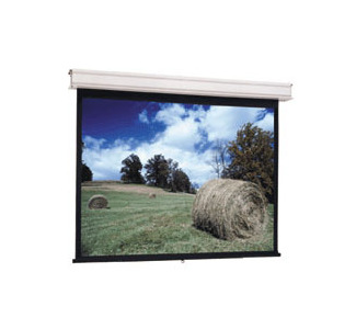 Da-Lite Advantage Manual with CSR 12' x 12' Square Format Screen - Matte White