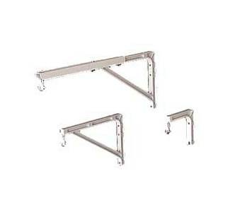 Da-Lite  No. 11 Wall Brackets - White - 14