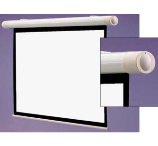 "Draper 50"" x 50"" Salara Series M Matte White Manual Screen - AV Format"
