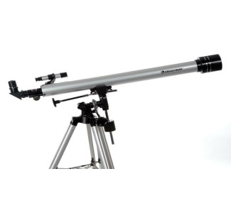 Celestron PowerSeeker 60 EQ Telescope - Aluminum Tripod and EQ Mount