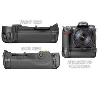 Nikon MB-D10 Multi-Power Battery Grip for Nikon D300 Digital Camera