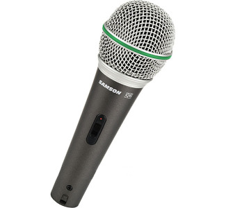 Samson Q6 - Dynamic Handheld Microphone with Switch