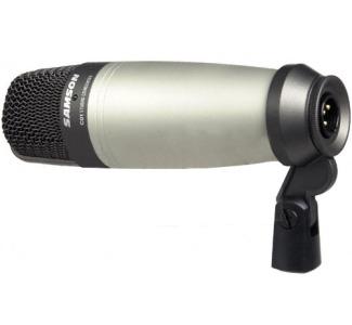 samson c01 large diaphragm studio condenser microphone camcor. Black Bedroom Furniture Sets. Home Design Ideas