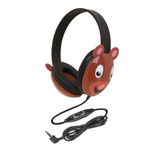 Califone 2810-BE First Headphones (Bear Motif)