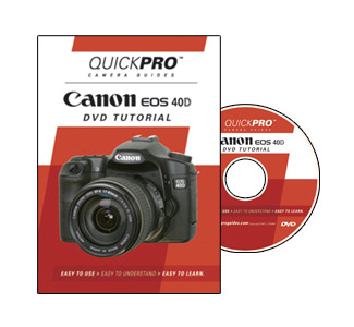 Quickpro DVD Guide For Canon 40D