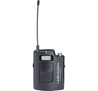 Audio-Technica ATW-T310 UHF UniPak Transmitter for ATW-3110 Wireless Microphone System (C / 541.500 MHz - 566.375 MHz)