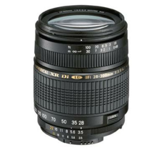 Tamron AF 28-300 F/ 3.5-6.3 XR DI LD for Canon Aspherical (IF) Macro with Hood
