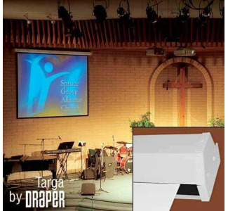 "Draper Targa 60"" x 80"" Wall Screen Matte White"