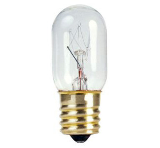 Eiko 130V 15W T-7 Intermediate Base Miniature Light Bulb/BBR