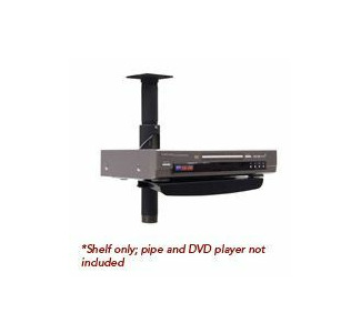 Chief PAC-102 Pole Mount Accessory Shelf - Black