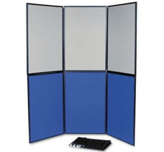 Quartet 6-Panel Showit! Display System