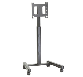 "Chief PFCUB Flat Panel 4' - 6' Mobile Cart (42""-63"" Display) Universal Black"