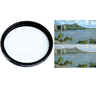 Tiffen 37mm UV Protector Glass Filter
