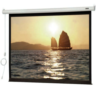 "Da-Lite Slimline Electrol 50"" x 67"" Projection Screen (Matte White)"