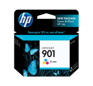 HP 901 Tri-color Officejet Ink Cartridge (CC656AN)