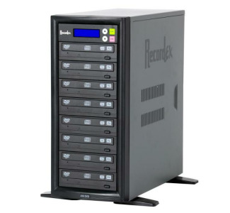 Recordex TechDisc Pro DVD700 DVD/CD 1 to 7 Tower Duplicator (20x/48x)