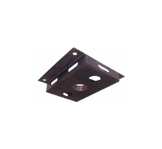 "Display Devices PLMT-T Pole Mount Top Panel with Threaded Collar for 2"" Pole"