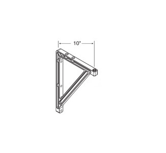 "Draper 10""-14"" Wall Bracket Kit"