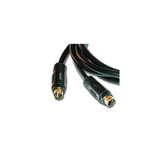 Kramer C-SM/SM-50 Molded 4-Pin S-Video Cable (50')