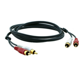 Kramer C-2RAM/2RAM-35 Dual RCA Stereo Audio Cable (Male-Male 35 ft.)
