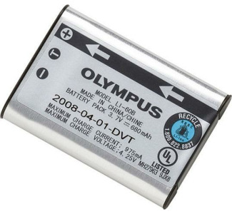Olympus 202252 LI-60B Lithium-Ion Rechargeable Battery for FE-370 Digital Camera