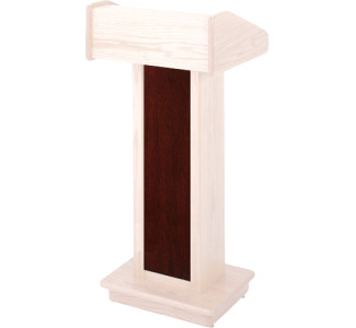 Sound-Craft Systems CSA Wood Front for LCA Lectern II (Dark Mahogany) (Lectern not included)