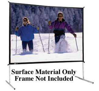 Da-Lite Fast-Fold Deluxe Replacement Surface (Screen Material Only, Frame Not Included)