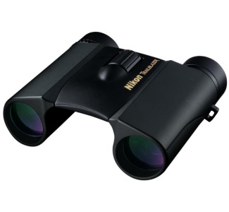 Nikon 10 x 25 Trailblazer Wide Angle Roof Prism Binocular with 6.5-Degree Angle of View (Black)