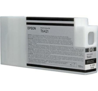 Epson UltraChrome HDR 150ML Ink Cartridge for Epson Stylus Pro 7900/9900 Printers (Photo Black)