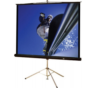 "Buhl T80:  80""x 80""Square Format Tripod Projector Screen (Matte White)"