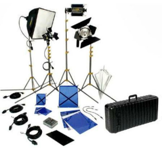 Lowel DV-9024Z:  DV Creator 44 Four Light Kit with TO-84 Case