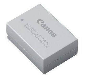 Canon NB-7L Lithium Ion Digital Camera Battery