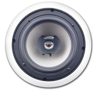 "Speco SPCBC8 8"" Compression Molded PP Cone In-Ceiling Speaker (Pair)"
