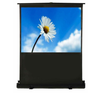 "Recordex TheaterNow 60"" Portable Screen 36""x48"" Pneumatic Pull-Up MW"