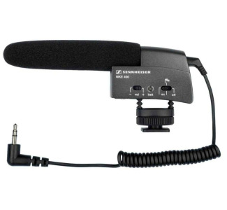 Sennheiser MKE 400 Video Shot Gun Microphone