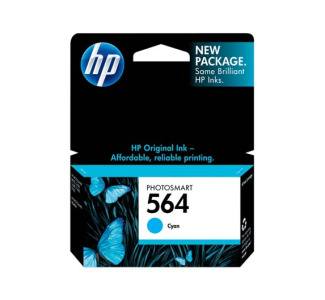 HP No. 564 Cyan Ink Cartridge
