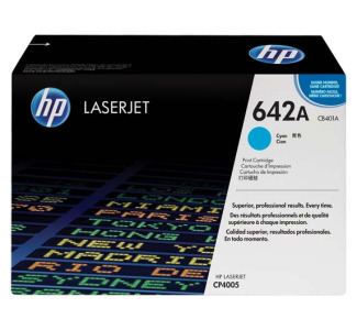 HP Cyan Toner Cartridge for LaserJet CP4005 Series Printers