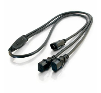 Cables To Go 1 to 2 Power Splitter Cable