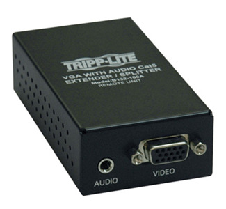 Tripp Lite B132-100A VGA Cat5 Extender with Audio