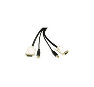 Cables To Go DVI Dual Link / USB 2.0 KVM Cable