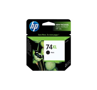 HP No. 74XL Black Ink Cartridge