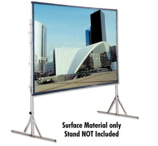 Draper Cinefold 9x12 Matt White Surface Material Only - Stand Not Included