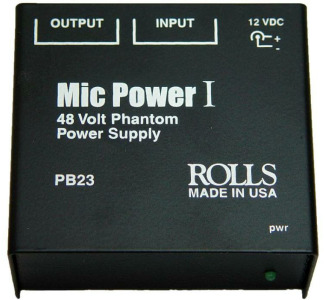 Rolls Phantom Power Supply For Condenser Microphone