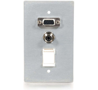Cables To Go 40572 Faceplate