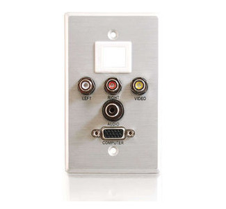 Cables To Go 40541 Faceplate