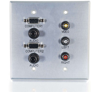 Cables To Go 40508 Faceplate