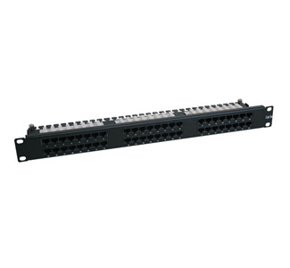 N252-048-1U 48-Port CAT6 Network Patch Panel