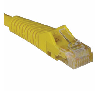 Tripp Lite N001-014-YW Category 5e Network Cable - 14 ft - Patch Cable - Yellow