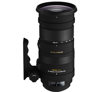Sigma 738306 Telephoto Zoom Lens - 50 mm to 500 mm